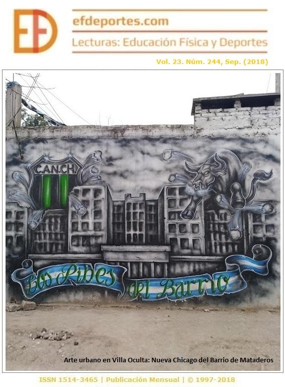 Arte urbano en Villa Oculta: Nueva Chicago del Barrio de Mataderos