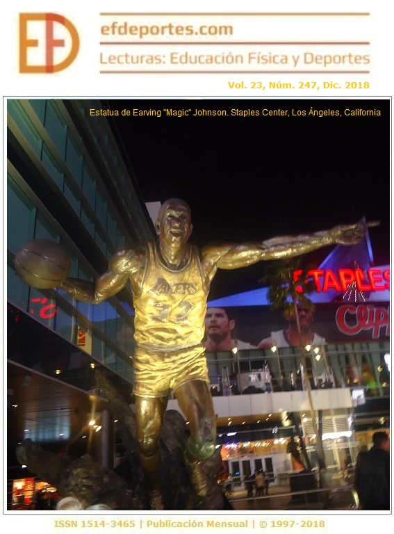 "Estatua de Earving ""Magic"" Johnson. Staples Center, Los Ángeles, California"