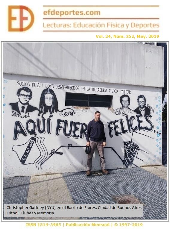 Christopher Gaffney (NYU) en el Barrio de Flores, Ciudad de Buenos Aires. Fútbol, Clubes y Memoria