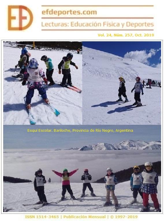 Esquí Escolar. Bariloche, Provincia de Río Negro, Argentina