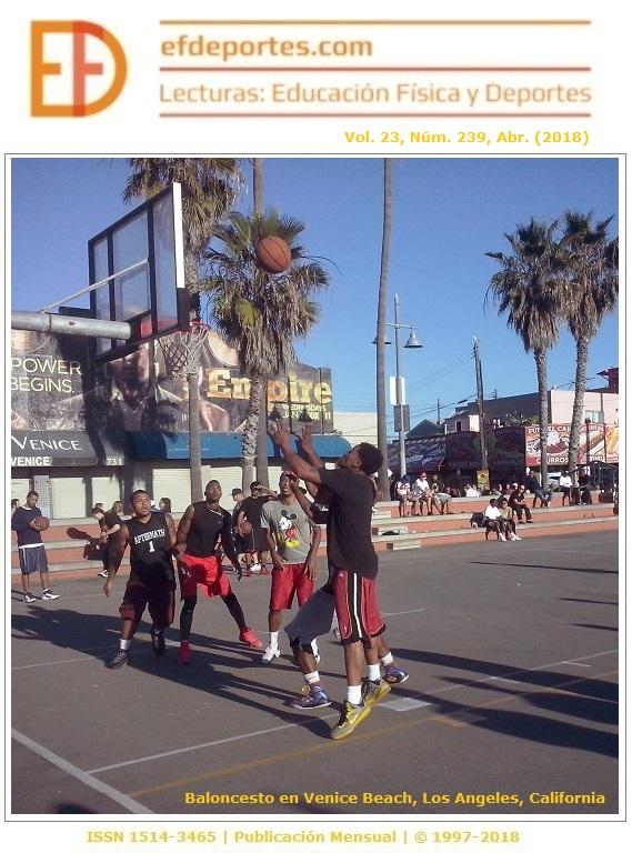 Baloncesto en Venice Beach, Los Angeles, California